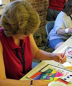Professional Development workshops at Oregon Teacher Art Institute