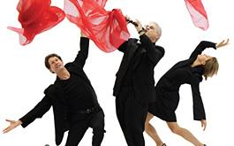 Above: BodyVox will present In Motion with Chamber Music Northwest from 7/21-22.