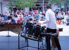 Above: Chamber Music Northwest Summer Concert (6/25-7/22). Family Concert (Photo: Judy Blankenship)