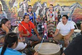 NAYA Family Center's 2014 Neerchokikoo Honoring Powwow, funded in part with an Expanding Cultural Access grant from RACC.
