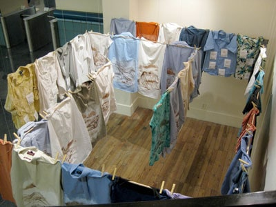 Shu-Ju Wang The Laundry Maze (2013) The Laundry Maze documented the profession transitions recent immigrants to Portland made as they negotiated our country's maze-like immigration process.