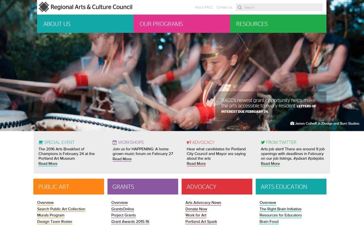 NewWebsite screenshot