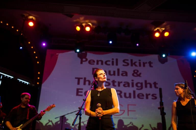 Pencil Skirt Paula and the Straight Edge Rulers (ZGF Architects), photo by Erica Ann Photography.