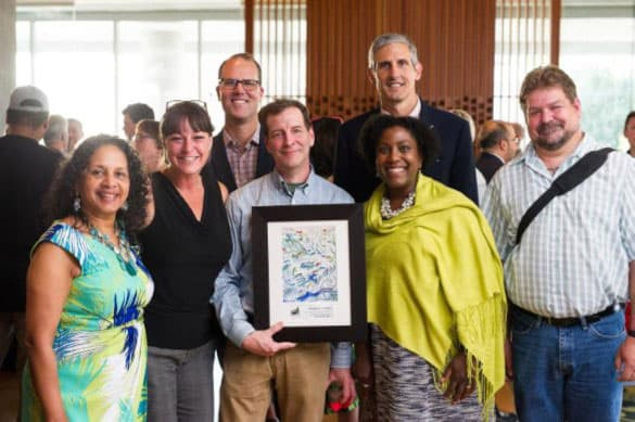 For the fifth straight year, PGE and its employees raised the most money for Work for Art. (Photo by Erica Ann Photography & Fine Art)