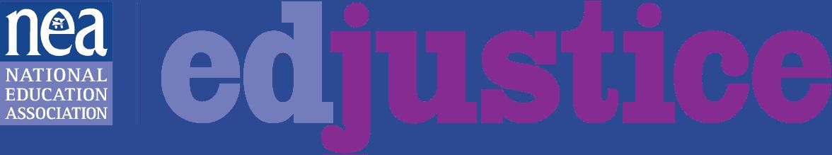 NEA - edjustice logo